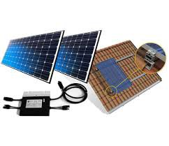 Gerador Solar Fotovoltaico 480kwh com microinversor completo