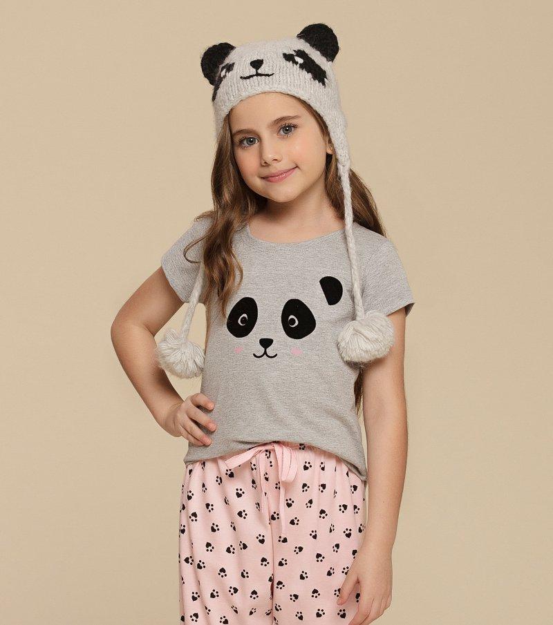 Pijama Manga Curta Infantil - 67356