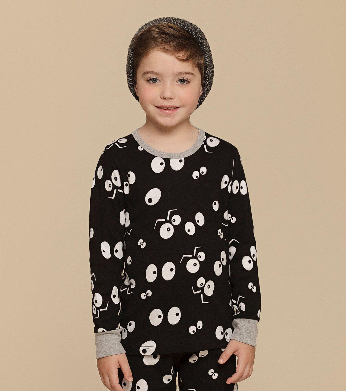 Pijama Manga Longa Infantil - 66292